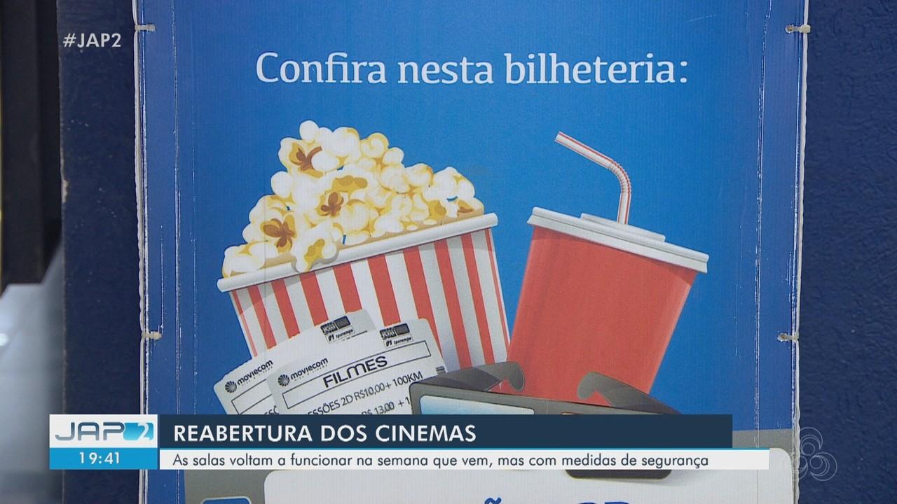 Cinemas voltam a funcionar em Macapá com medidas de segurança para Covid-19