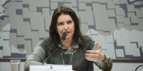 Simone Tebet, senadora  (Foto: Marcos Oliveira/Agência Senado)