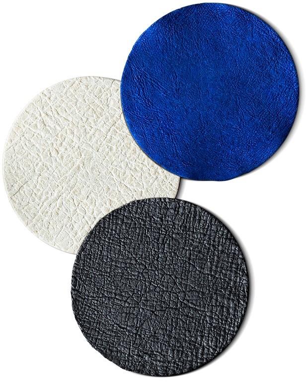 ZOA, novo tipo de couro desenvolvido pela Modern Meadow (Foto: Reprodução)