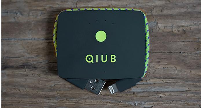 Qiub tem potência de 1.500 mAh na power bank (Foto: Divulgação/Qiub)