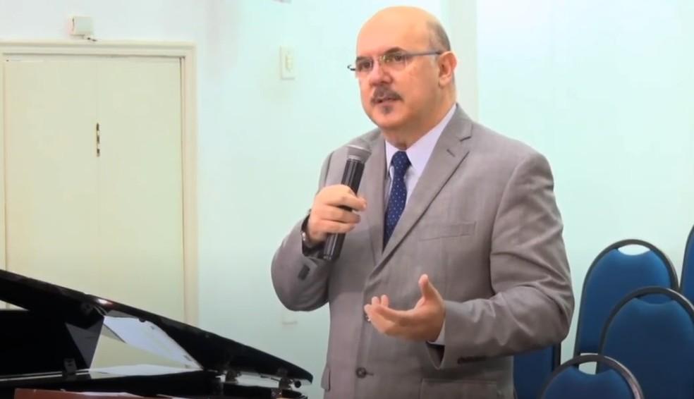 Pastor Milton Ribeiro — Foto: Reprodução/Redes sociais