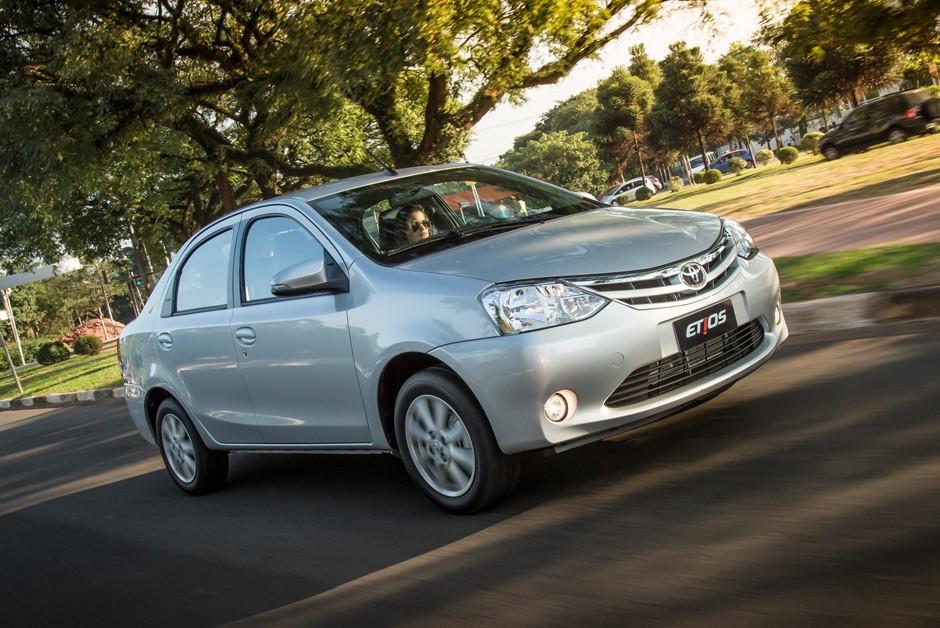 Toyota Etios Sedan (Foto: Divulgação)