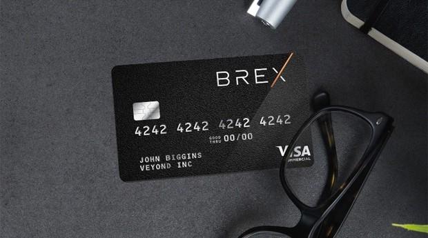 Cartão da Brex, fintech criada por brasileiros no Vale do Silício (Foto: Divulgação)