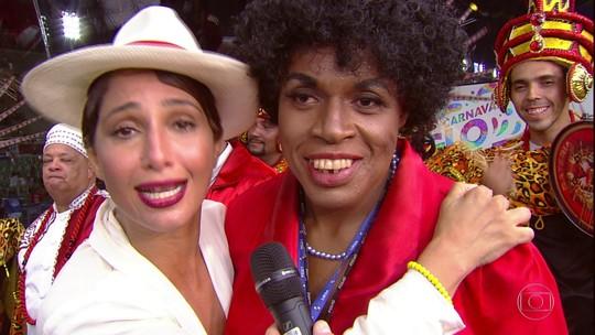Camila Pitanga fala sobre a homenagem do Porto da Pedra a Benedita da Silva