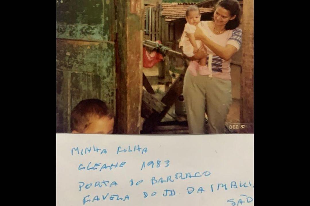 Criolo posta após a morte da irmã mais nova, Cleane Gomes, vítima da Covid-19 (Foto: Reprodução/Instagram)
