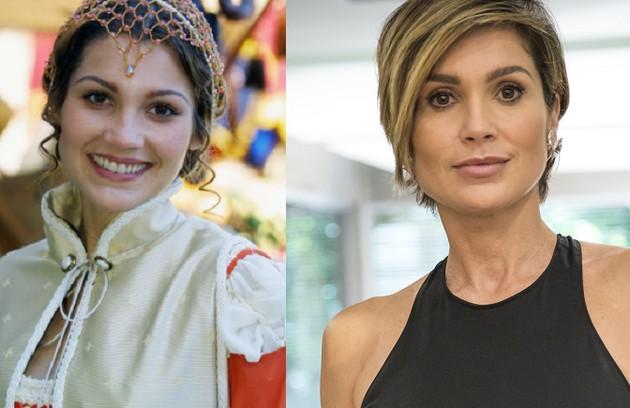 Flávia Alessandra interpretou Lívia, casada com Beto (Thiago Lacerda) e mãe de três filhos. Em outra vida, foi a paixão do vampiro Bóris (Tarcísio Meira). A atriz está terminando de gravar 'Salve-se quem puder' (Foto: Globo)