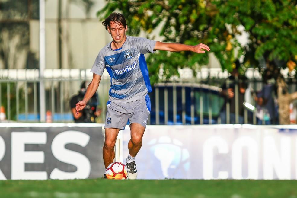 Geromel: comissão da Seleção irá a mais três jogos do Grêmio (Foto: Lucas Uebel/Grêmio)