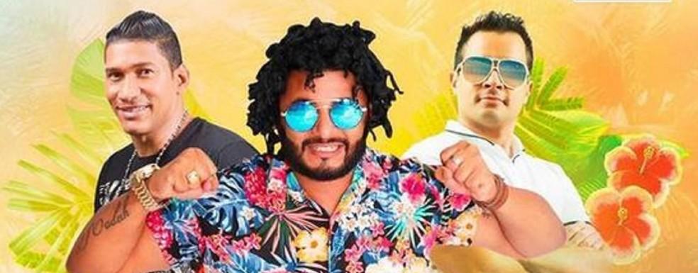 Tony Canabrava, Val Boca, Boca de Forno e Dj Pitão — Foto: Reprodução