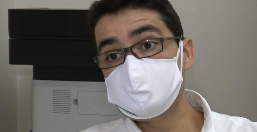 Médico Leonardo Anhesini, de Araraquara — Foto: Wilson Aiello/EPTV