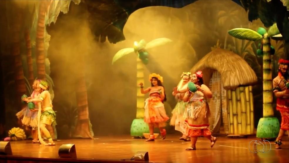 Espetáculo Moana será realizado no Fernada Montenegro com duas sessões (Foto: TV Anhanguera/Reprodução)