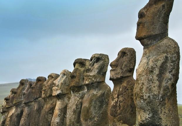 Ilha da Páscoa, no Chile (Foto: Pixabay)