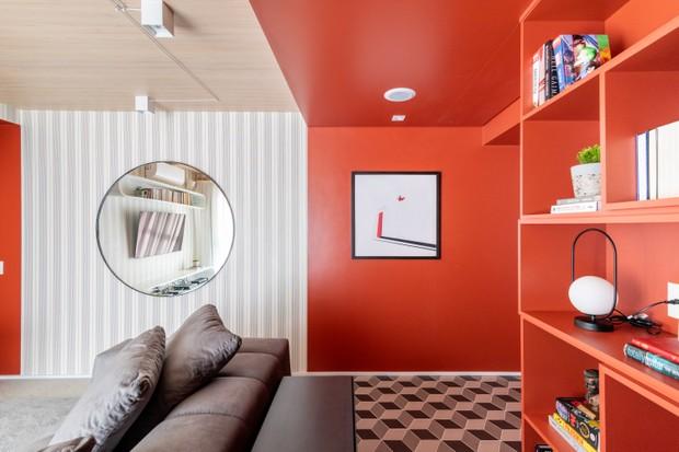 Cores, estampas e texturas sem medo de ousar em 70 m² - Casa Vogue |  Apartamentos