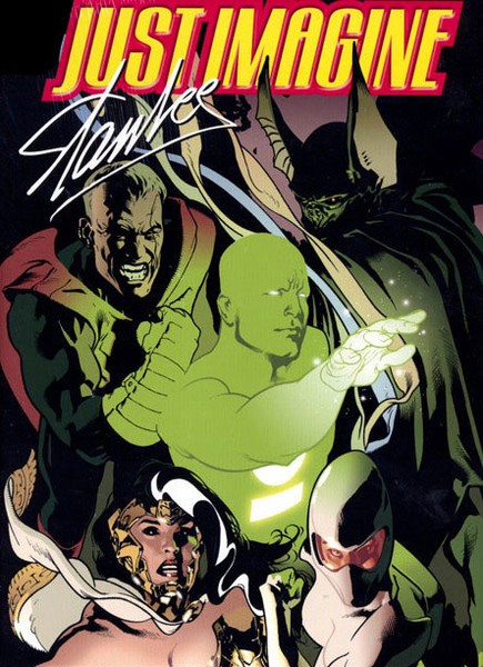 Uma das edições da Just Imagine, série da DC escrita por Stan Lee (Foto: Divulgação)