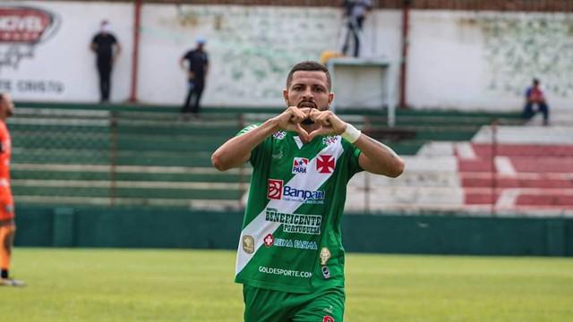 Alexandre Pinho marcou o segundo gol da Tuna contra o Paysandu