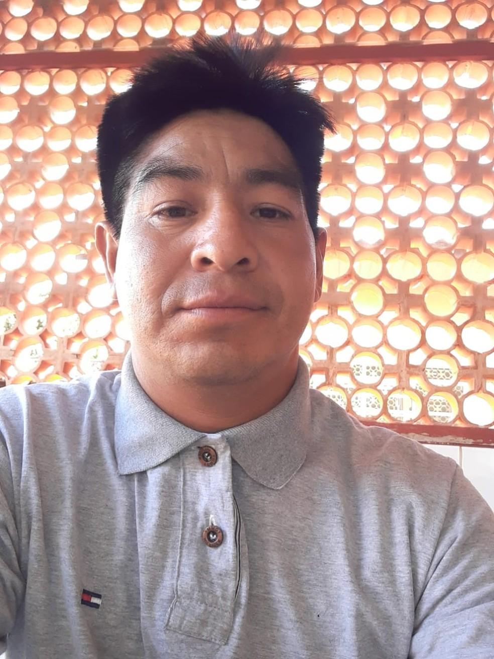 Nilvado Azezonaece, de 41 anos, morreu em acidente em Tangará da Serra — Foto: Arquivo pessoal