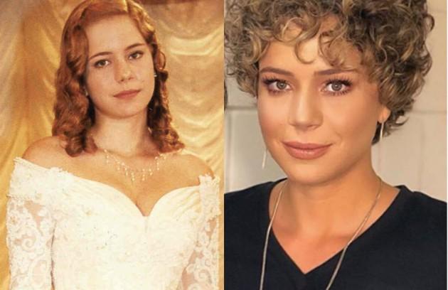 A romântica Bianca foi a personagem de Leandra Leal. Se envolve com Heitor (Rodrigo Faro), mas, ao longo da história, se apaixona por Edmundo (Ângelo Antônio). A atriz está escalada para a série 'Gaia' (Foto: Divulgação / Reprodução Instagram)