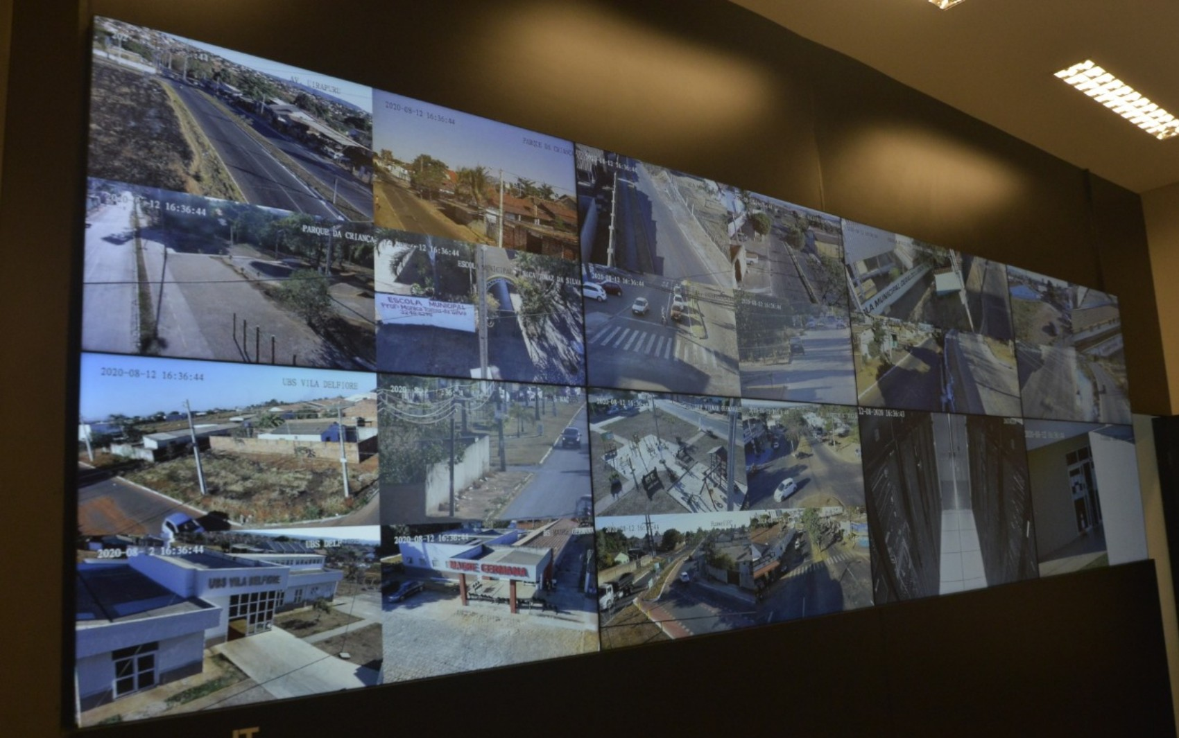 Aparecida de Goiânia inicia monitoramento com 650 câmeras que fazem reconhecimento facial e até de placas de veículos