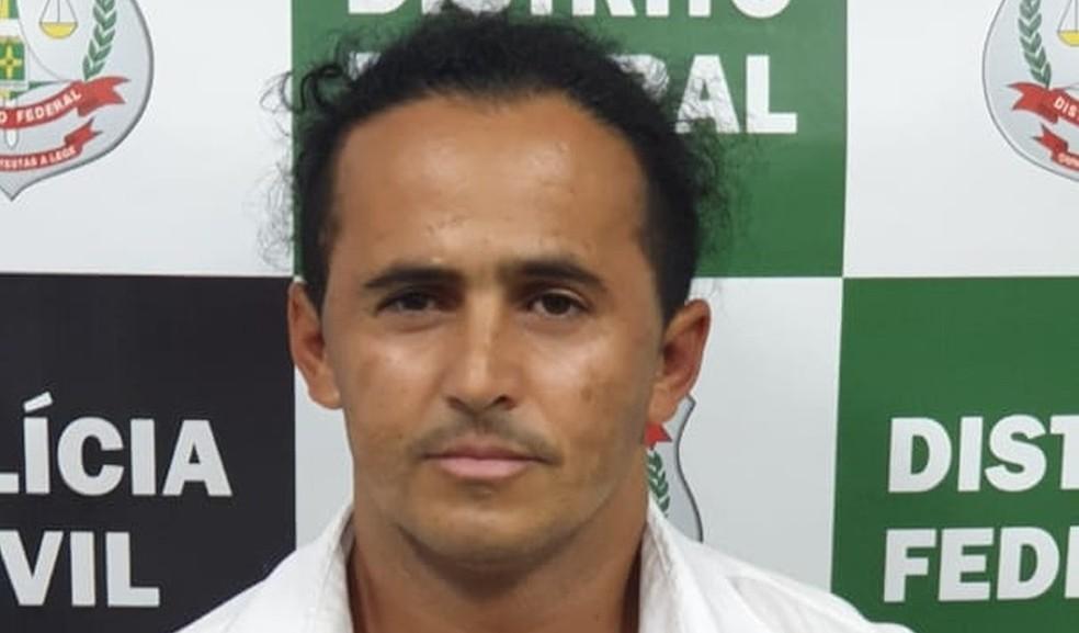 Marinésio de Sousa Olinto confessou a morte de duas mulheres no Distrito Federal — Foto: Polícia Civil do DF/Divulgação