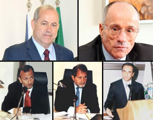 Afastados por suspeita de corrupção, conselheiros do TCE receberam cerca de R$ 12,5 milhões entre 2017 e 2021