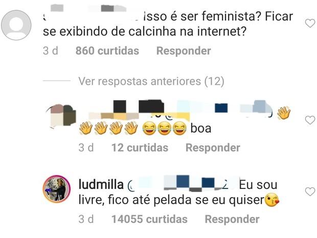 Ludmilla (Foto: Instagram/Reprodução)