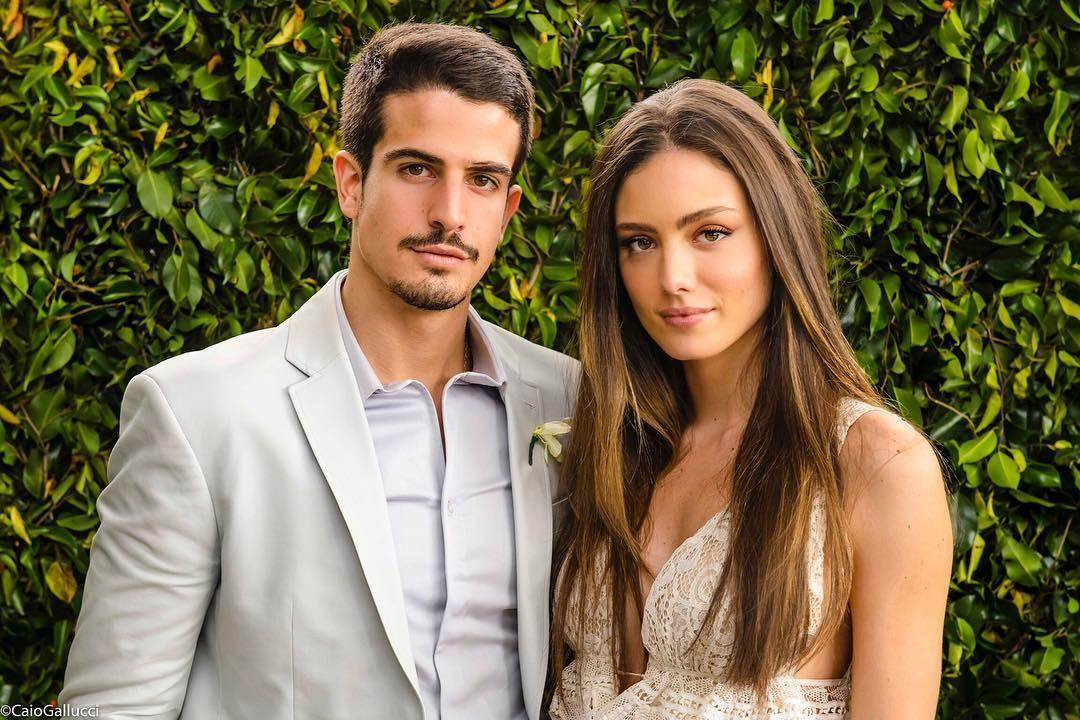 Enzo Celulari e Victoria Grendene (Foto: Reprodução Instagram)