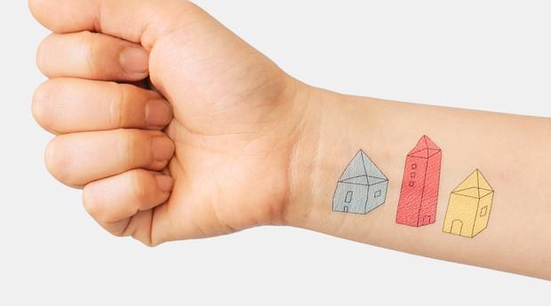 Mais de 2,6 milhões de tatuagens da Tattly vendidas por ano (Foto: Divulgação)