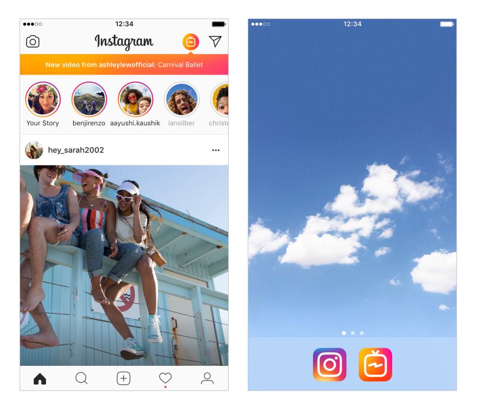 IGTV e Instagram tem integração total (Foto: Divulgação/Instagram)