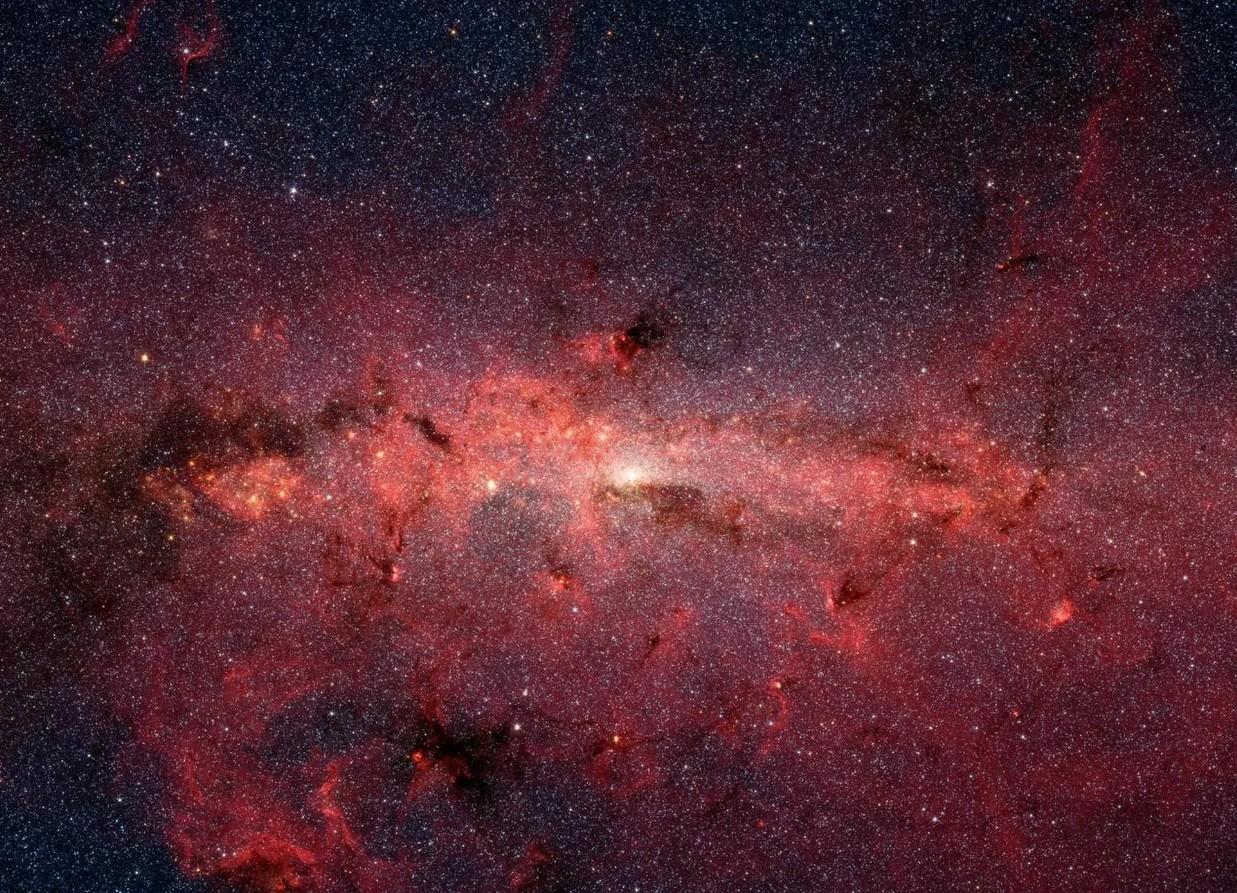 A Via Láctea é cheia de gordura tóxica, mostra estudo