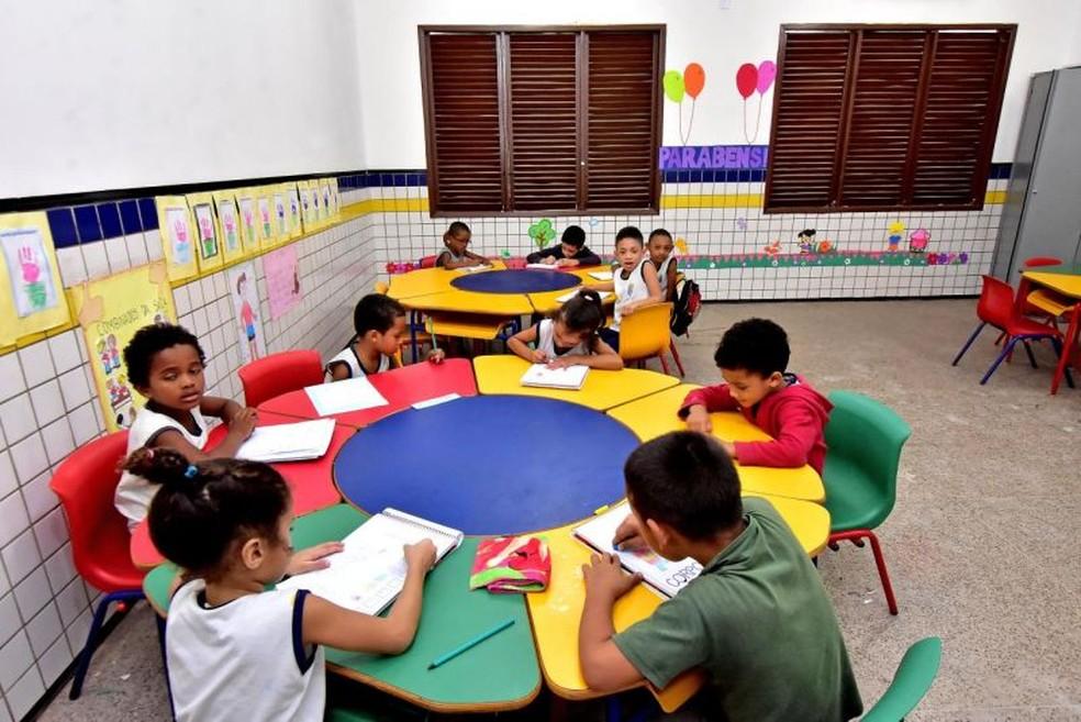 Um dos objetivos da meta 1 do Plano Nacional da Educação (PNE) é o país atender 50% dos menores de 3 anos e 11 meses na creche até 2024. — Foto: Maurício Alexandre/Divulgação