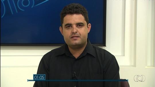 Weslei Garcia é entrevistado no Jornal Anhanguera 1ª Edição