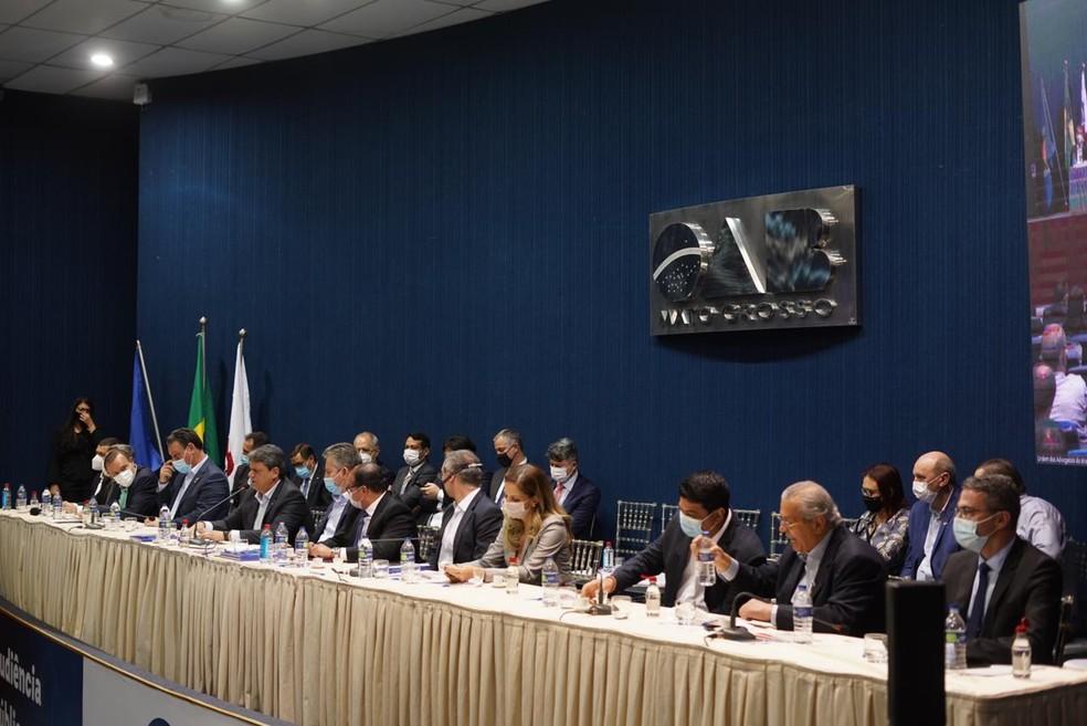 Audiência pública discute situação da BR-163 em MT — Foto: George Dias