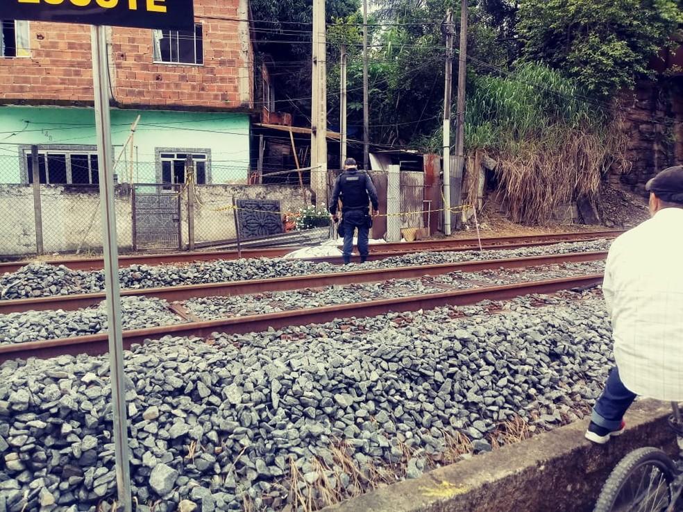 Jovem morre ao ser partido ao meio pelo trem em Barra Mansa — Foto: Arquivo Pessoal