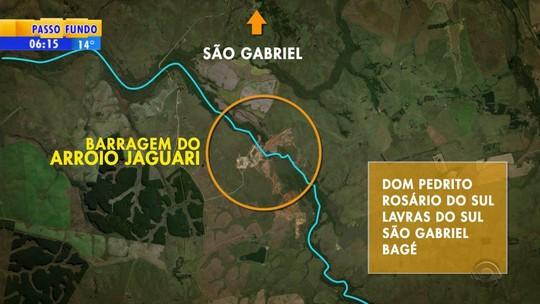 Iniciada em 2008, obra da barragem do arroio Jaguari será retomada