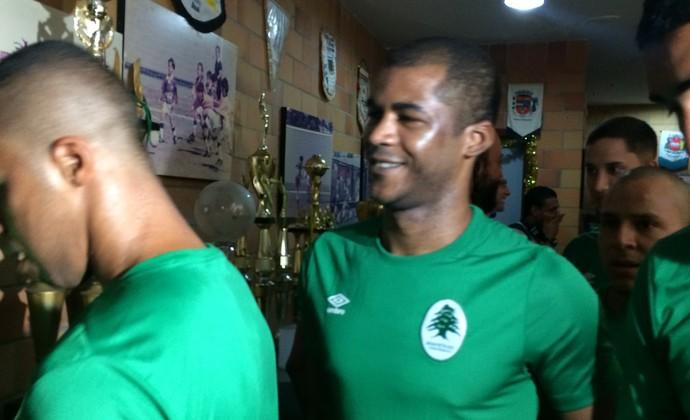Renato Silva, reforço do Boavista (Foto: Gustavo Garcia/ GloboEsporte.com)