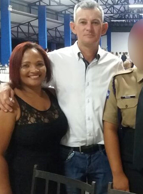 Luzinete e o marido, Adolfo Henrique Rohde (Foto: Facebook/Reprodução)