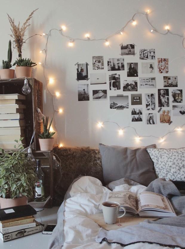 10 jeitos de aproveitar as luzinhas de Natal na decoração (Foto: Pinterest)
