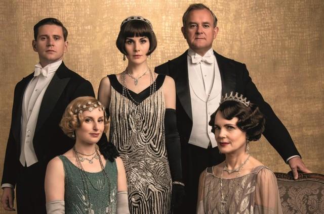 Elenco de 'Downton Abbey - O Filme' (Foto: Divulgação)