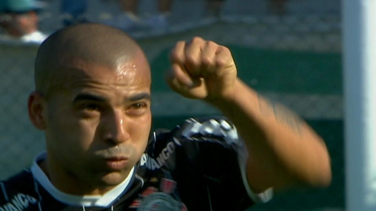 Sheik marcou em 2011, pelo Brasileirão, em uma derrota