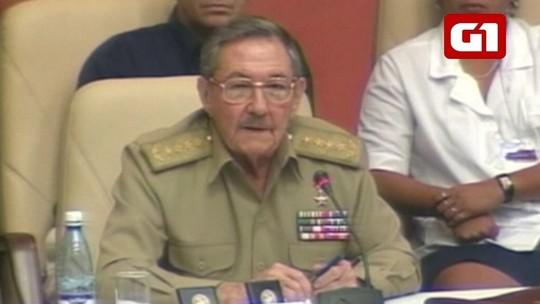 Relação com os EUA, wi-fi em praças: Veja 6 fatos do governo Raúl Castro