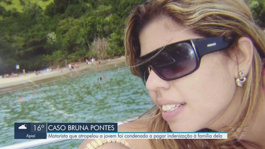 Caso Bruna Pontes: Motorista é condenado a indenizar família da jovem