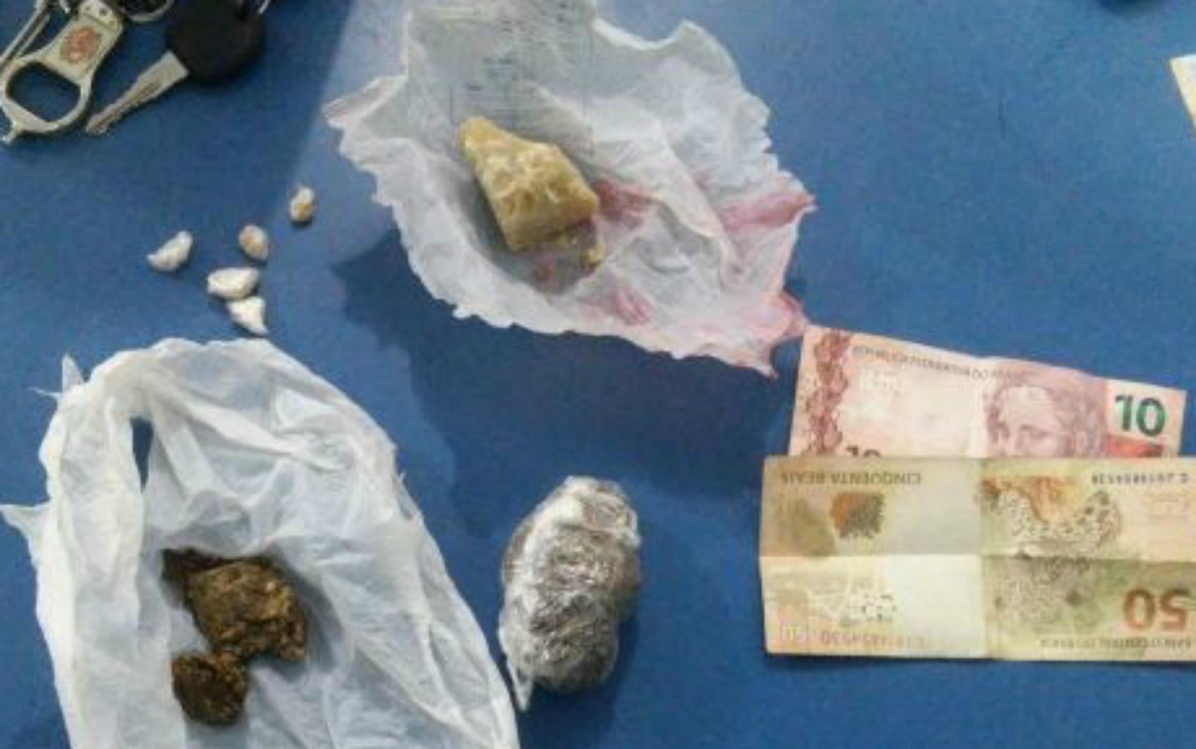 Jovem é preso por tráfico de drogas no Bairro Cristo Rei em Vilhena, RO