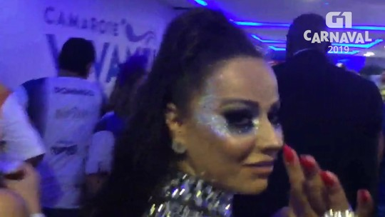 Viviane Araújo rebate alfinetada da rainha da Unidos da Tijuca