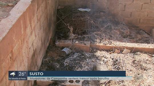 Explosão em piscina em construção provoca tremor de terra em Campanha, MG