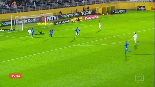Bragantino vence o São Bento por 2 a 0 pela Série B do Brasileirão