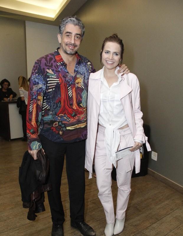 Letícia Colin e Michel Melamed (Foto: Wallace Barbosa/AgNews)