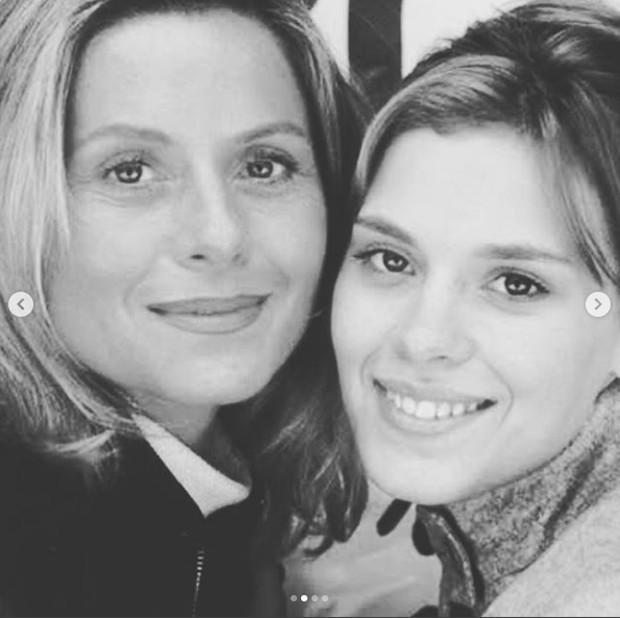 Vera Fischer e Carolina Dieckmann (Foto: Reprodução Instagram)