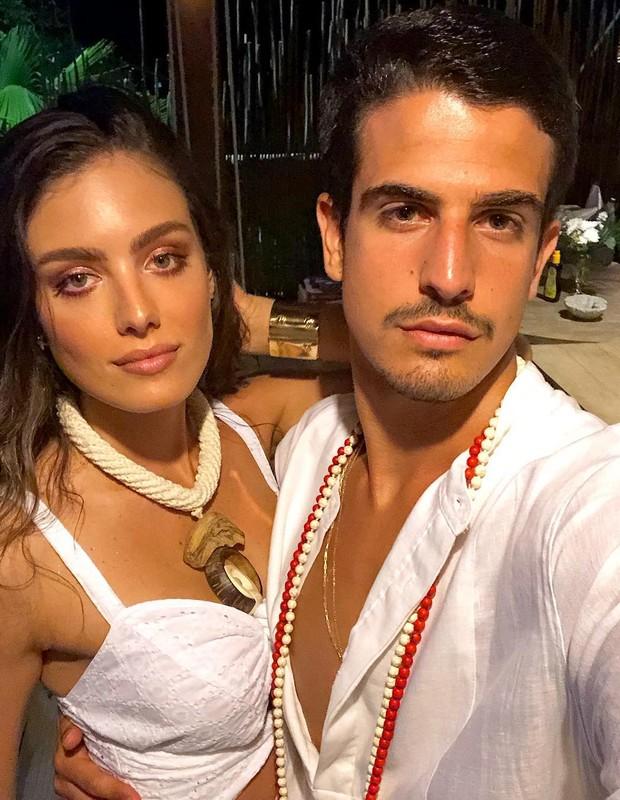 Victória Grendene e Enzo Celulari (Foto: Instagram/Reprodução)