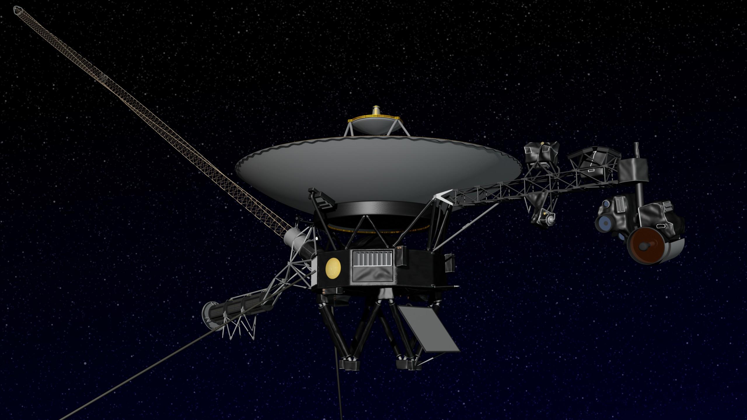 Imagem ilustrativa da sonda Voyager 2 (Foto: Nasa/ Reprodução)
