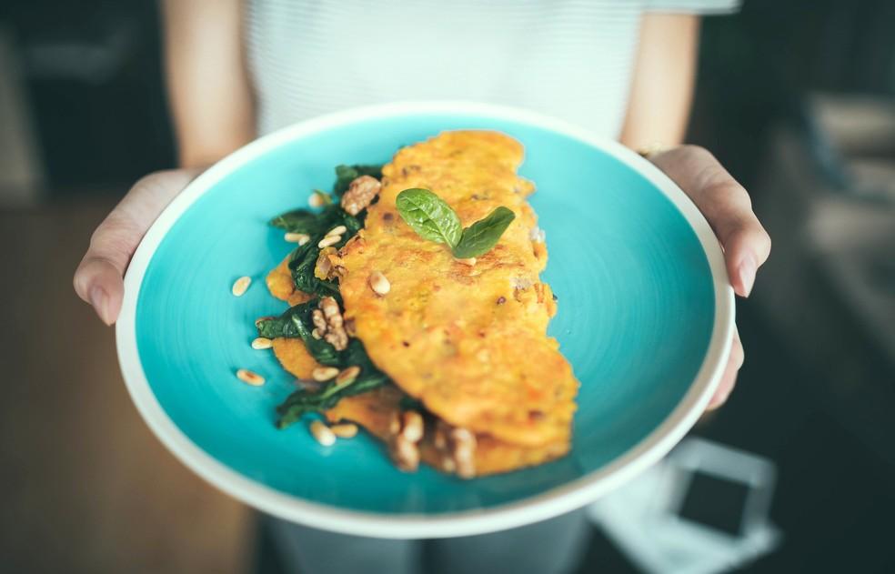 Para aumento do consumo de proteína no café da manhã, quando ingestão é menor, sugestão é fazer omelete — Foto: Pixabay