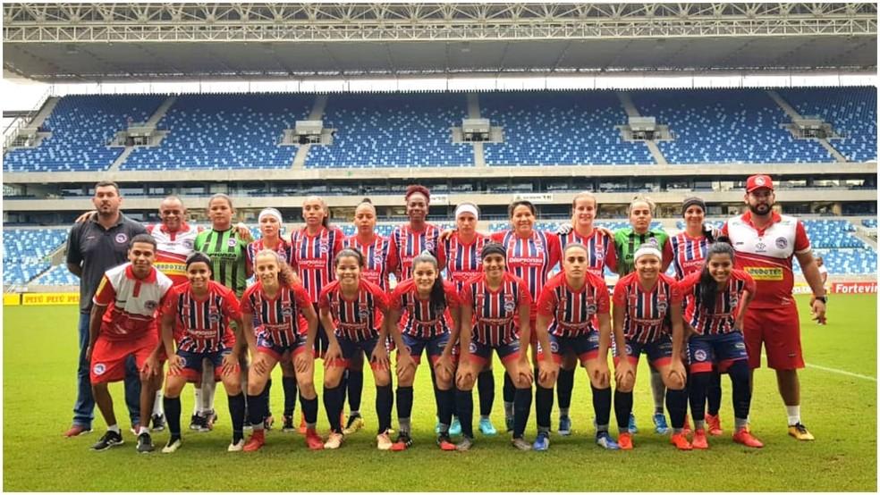 Equipe do Porto Velho escalada para o Brasileirão Feminino A2 — Foto: Arquivo Pessoal/Rosinha